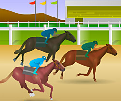 Jockey Star game in flash