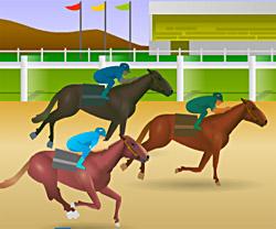 Jockey Star game in flash